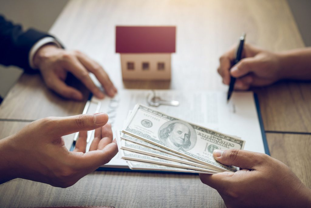 house buyer cash offer on house